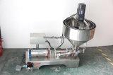 半自動小さい液体の磨き粉の充填機