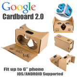 Reality virtuale 3D Glasses Google Cardboard 2.0 (Version 2.0 2)