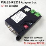Ict Bill Acceptor, Acceptor de pièces de type à impulsions Adapté au PC Port RS232