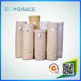 Saco de filtro industrial resistente de alta temperatura do ar do PPS do cimento