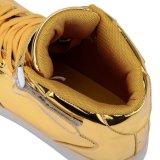 Unisex encender para arriba las zapatillas de deporte con 7 tapas de las luces de los colores altas