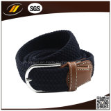 Hot Sale Women Jeans Tecido Trançado Stretch Belt