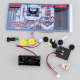 4452117-7 em 1 brinquedo educacional de montagem solar do espaço dos brinquedos do jogo DIY da frota do espaço
