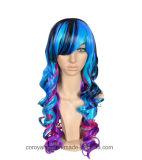 Neue Form 2016 Anime Cosplay Perücke-synthetische Haar-Perücke
