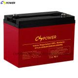 Bateria solar do armazenamento recarregável de VRLA para a alta temperatura