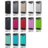 iPhoneのための衝撃Proof Hybrid Silicone Outdoor Defender 4 5 6 Plus Colorful Case