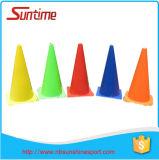Cône en gros du football de cônes de circulation de formation de sport, cône de formation, cône du football, cône de borne, cône de borne du football