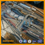 Modèle de /Architectural de modèle de modèle d'édifice public d'ABS de qualité/modèle de construction faisant/modèle miniature/tous genre de signes