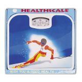 Échelle mécanique de santé pesant l'équilibre pour le poids