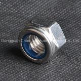 Tuercas de fijación de nylon DIN982 DIN985 del acero de carbón del acero inoxidable