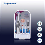 CER, RoHS und FDA Approved Sonicare Battery Operated Electric Toothbrush für Adults mit 3 Extra Brushheads Wy839-B-03