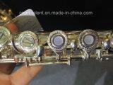 16 fori aperti che incidono la scanalatura d'argento del reticolo (FL-280S)