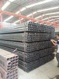 tubulação de aço retangular e quadrada da seção oca galvanizada Shs de 100X100mm