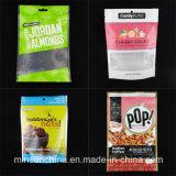 Stand up Impreso bolsa de alimentos para mascotas con Ziplock