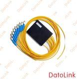 Splitter 1-16 оптического волокна отрезка провода