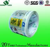 Logo imprimé par coutume de bande d'emballage de la bonne qualité BOPP