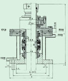 機械シールは引火しやすく、爆発性のエージェント(206)に適用する