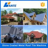 Mattonelle variopinte di vendita calde della radice della costruzione 2016, mattonelle di tetto rivestite di pietra del metallo
