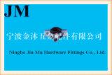 Resistência de corrosão braçadeira de tubulação de borracha o de 1 - 1/4 de polegada com eletro de 8 - 10 mícrons galvanizado