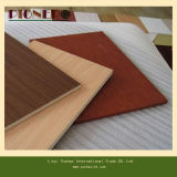 E0 접착제를 가진 Indoor Decoration를 위한 멜라민 Embossed Plywood