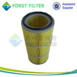Forst de Filter van de Patroon van de Cabine van de Nevel van de Polyester van 5 Micron