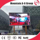 Visualizzazione di LED esterna di P10 SMD per la pubblicità dello schermo della scheda