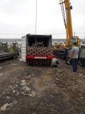rullo compressore utilizzato Pecora-Piede-Ricoperto raffreddato ad aria di Dynapac Ca25pd dei Nuovo-Fari di 40hc_Container-Shipping 12~25ton/Vibrating