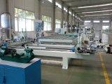 Soldadura do Porta-Indicador do CNC UPVC e linha de produção da limpeza