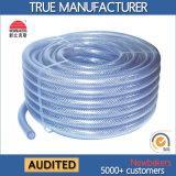 PVC trenzado reforzado con fibra de manguera (KS-698CSSG Claro)