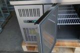 Edelstahl-Oberseite gekühlte Kostenzähler für Salat-Stab
