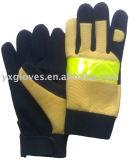 Arbeit Handschuh-Sicherheit Handschuh-Industrielle Handschuh-Mikrofaser-Handschuh-Preiswerter Handschuh