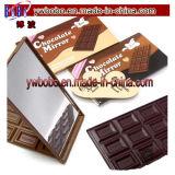 Producten van de Gift van de Spiegel van de Hand van de Make-up van de Chocolade van de spiegel de Promotie Beste Promotie (G8068)
