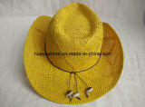 Sombrero de papel del borde de Shapeable del sombrero de vaquero del 100% Toyo