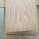 Contre-plaqué de meubles de faisceau de peuplier de contre-plaqué de chêne rouge