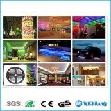 5050 SMD 30 LED/M 5m helles Streifen-Lampen-Auto flexibles 12V imprägniern