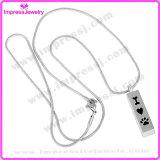 De goedkope Halsband van de Urn van de Tegenhanger voor de Herinnering van de As van het Huisdier (IJD8001)