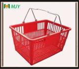 Panier à provisions en plastique Mjy-Tb16