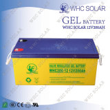 batteries solaires exemptes d'entretien de gel du cycle 12V200ah profond pour l'UPS