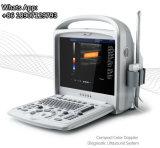 Ausgezeichnete Qualitätsspätester Portable USG 3D der Farbe Doppler