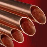 銅管(内部の溝がある)、冷凍のために、空気状態、銅の管