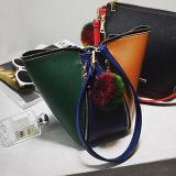 新しい到着の女性デザイナーハンドバッグの普及した対照カラーショルダー・バッグのCrossbody袋Sy8091