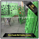 Keenhai dekoratives Mehrfarbenaluminiumfassade-Wand-außenfassadenelement