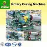 Correa rotatoria que cura la máquina para presionar y moldear el caucho cariado