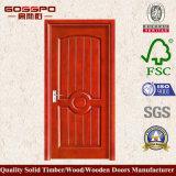 Mahogany MDF Venner panel de la puerta (GSP6-008)