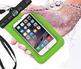 Promotie pvc van de Telefoon van de Gift Waterdicht Mobiel Droge Zak