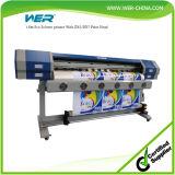 Máquina de impressão solvente de Wer-Es160 1.6m Eco para o pano de engranzamento e a visão de sentido único