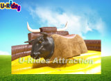 Bull mecânica inflável principal macia