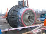 Matériel de jet de Hvof d'enduit de carte de travail pour les usines géothermiques de membranes de turbine de soupape de pompe de rotors de turbines de machine d'enduit de composants de station de production d'électricité