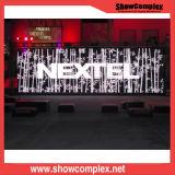 Visualizzazione di LED esterna completa dell'affitto di colore P6