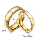 Ювелирные изделия обручального кольца обручального кольца способа фабрики оптовым покрынные золотом